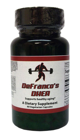 DeFranco's DHEA 25 mg. 90 ct.