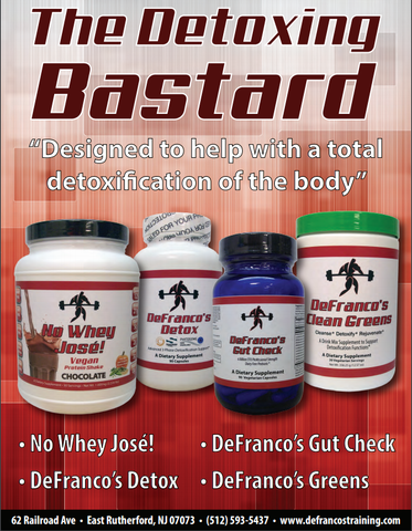 DeFranco's Detox Bundle- No Whey Jose