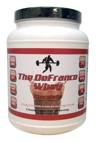 The DeFranco Whey Chocolate