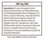 CBD Oil Balm - Extra Strength