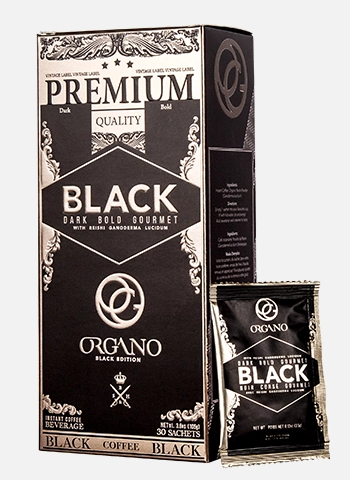 Organo Gold Black Coffee (3 Pack)