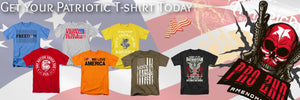 Mens's Patriotic T-shirts for those who will always love America