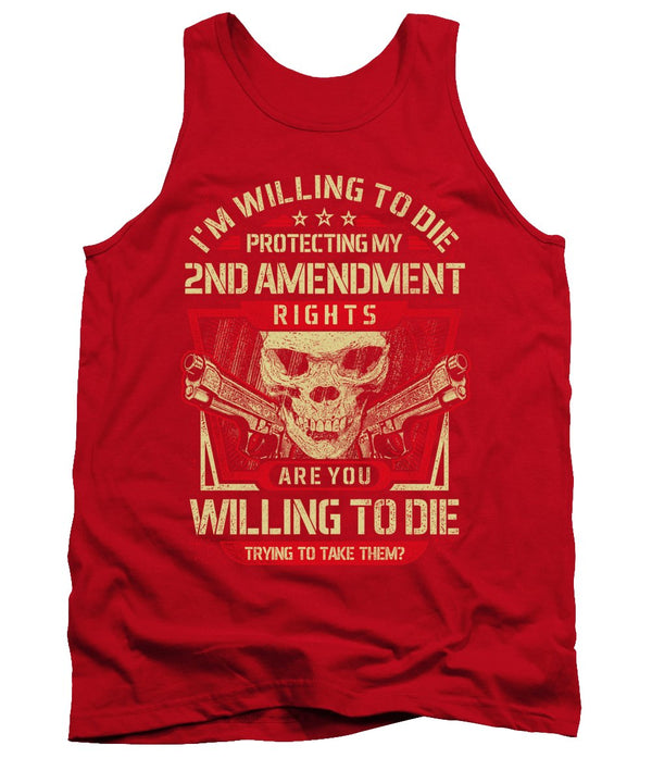 2nd Amendment Rights - Tank Top - .223 Digital Art