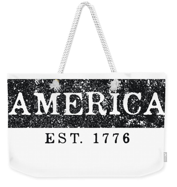 America 1776 - Weekender Tote Bag - .223 Digital Art