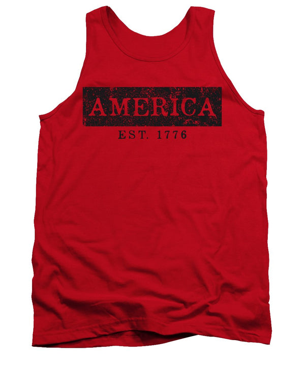 America 1776 - Tank Top - .223 Digital Art