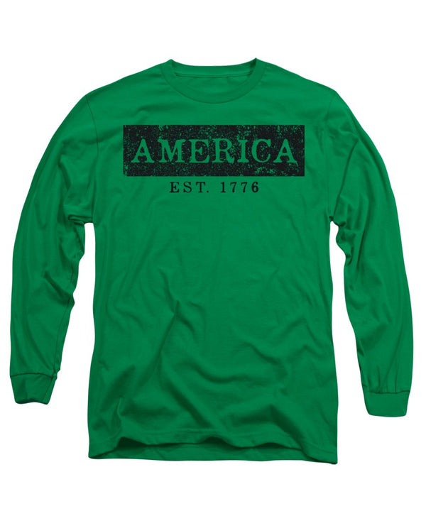 America 1776 - Long Sleeve T-Shirt - .223 Digital Art