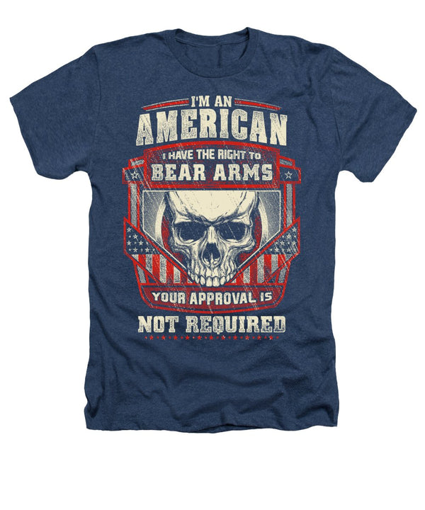 Bear Arms - Heathers T-Shirt - .223 Digital Art