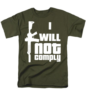 Not Comply - Graphic T-shirts for Men  (Regular Fit) - .223 Digital Art