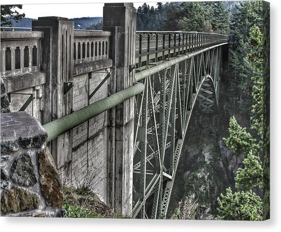 Canvas Prints High Quality Art - Deception Pass - .223 Digital Art