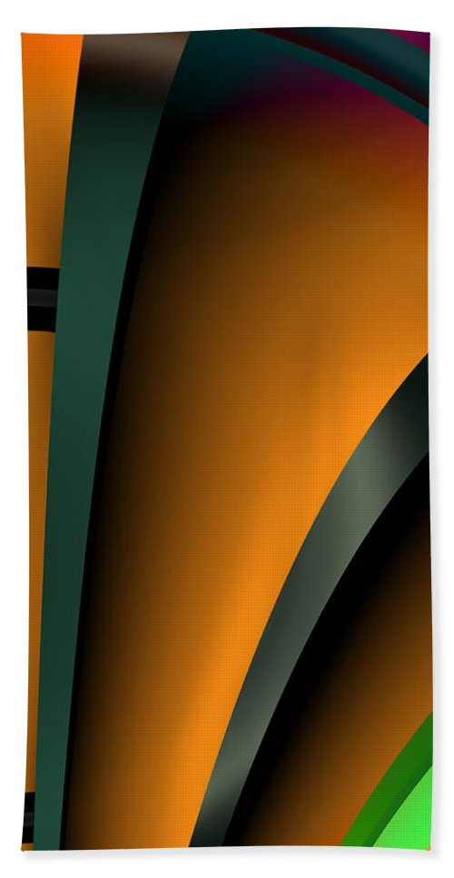 Delightful - Beach Towel - .223 Digital Art
