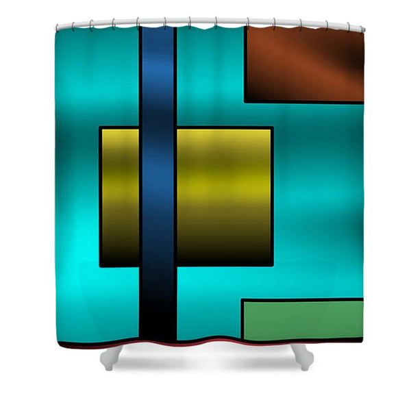 Depths of Happiness- Shower Curtain - .223 Digital Art