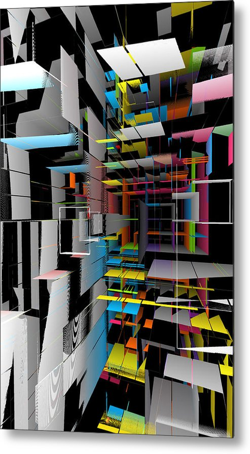 Dimensions - Metal Print - .223 Digital Art