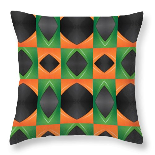 Dypat - Throw Pillow - .223 Digital Art