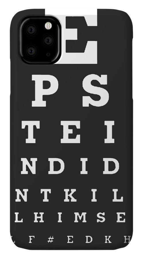 Epstein's Exam - Phone Case