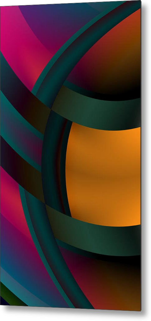 Entangled - Metal Print - .223 Digital Art