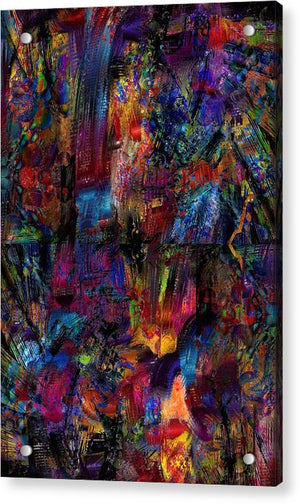 Eruption - Acrylic Print - .223 Digital Art