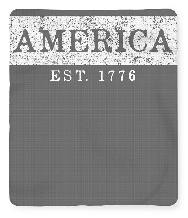 America Est.1776 - Fleece Blanket - .223 Digital Art