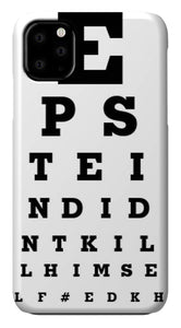 Eyechart - Phone Case