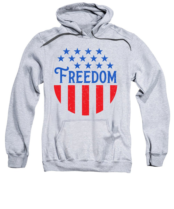 Freedom - Sweatshirt - .223 Digital Art
