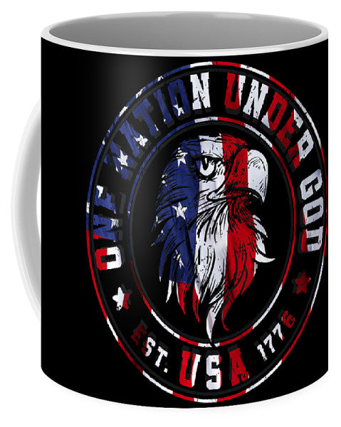 Freedom Eagle - Ceramic Coffee Mug - .223 Digital Art