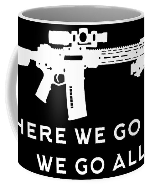 Go All - Mug - .223 Digital Art