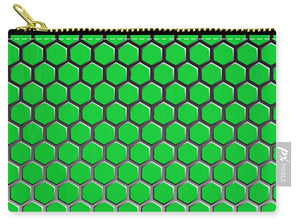 Green Hex - Carry-All Pouch