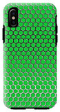 Green Hex - Phone Case