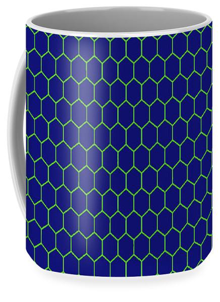 Ceramic Mug - Hex1 - .223 Digital Art