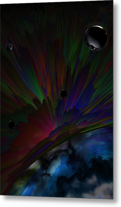 Hyperspace - Metal Print - .223 Digital Art