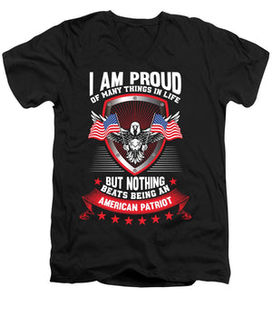 I am Proud - Men's V-Neck T-Shirt - .223 Digital Art
