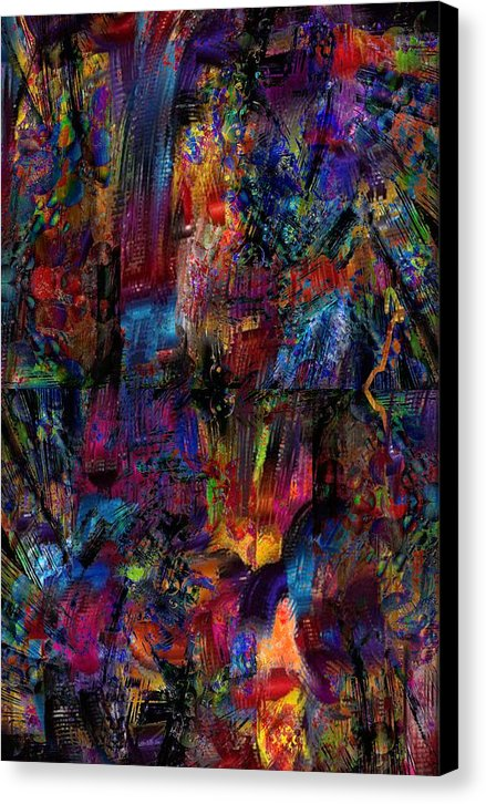 Layers - Canvas Print - .223 Digital Art