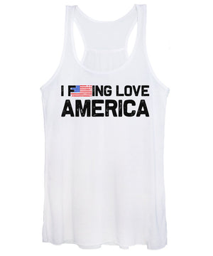 Love America - Women's Tank Top - .223 Digital Art