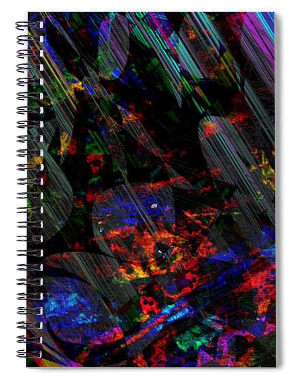 Mysterious - Spiral Notebook - .223 Digital Art