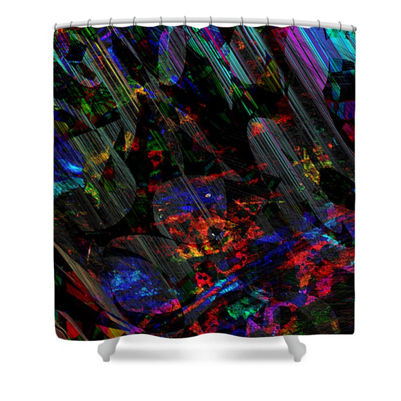 Mysterious - Shower Curtain - .223 Digital Art