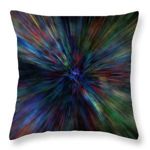 Paint Flare - Throw Pillow