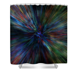 Paint Flare - Shower Curtain