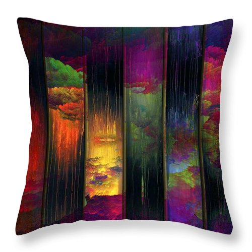 Panel - Throw Pillow - .223 Digital Art