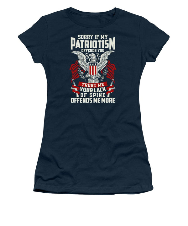 Patriotism - Women's T-Shirt - .223 Digital Art