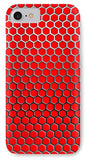 Red Hex - Phone Case