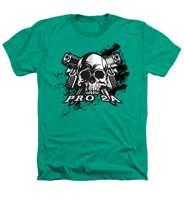 Skull n Pistols - Heathers T-Shirt - .223 Digital Art