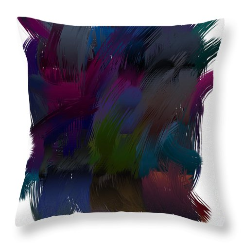 Splash N Dash - Throw Pillow - .223 Digital Art