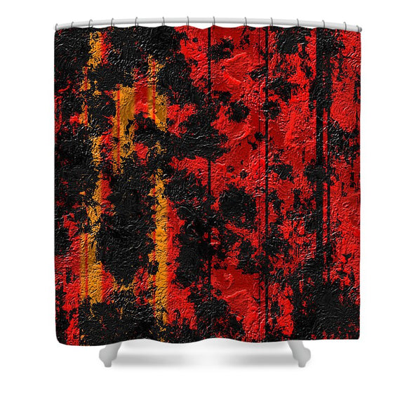 Splatter - Shower Curtain