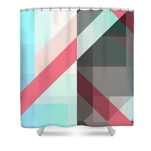 Split Personality - Shower Curtain