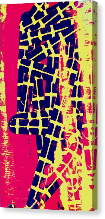Tread - Canvas Print - .223 Digital Art