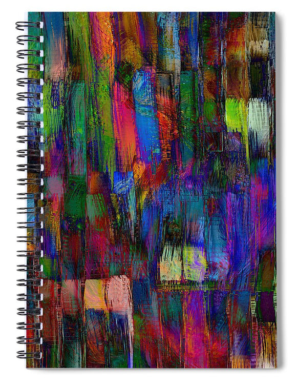 Walls Work - Spiral Notebook