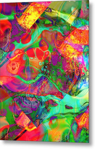 World's Best Abstract - Metal Print