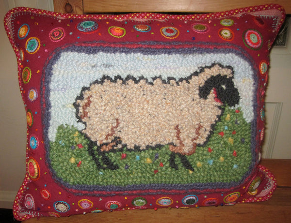 Bah Bah No Banana. Sheep design by Beaver Brook Crafts.