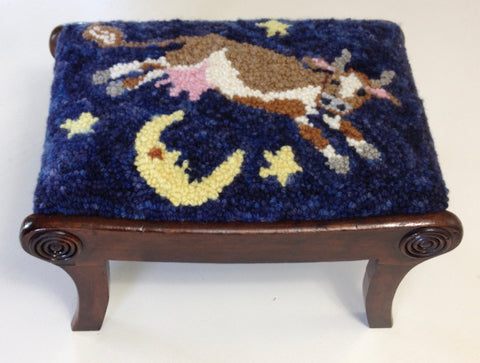 Cow Jumped Over the Moon Foot Stool