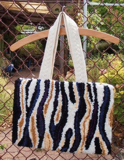 Bag made by Sandra van Kolck, Tanunda, South Australia.
