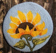 Sunflower Chair Pad  by Gretchen Kellas